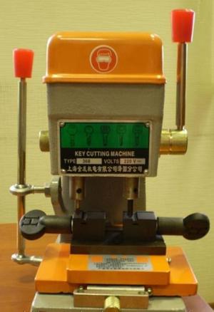 Станок вертикальный, лазерный Faxiang 368-A, для изготовления вертикальных ключей