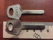 Заготовка для ключей PLT-101/SMT/PTL101/Canas/( Фин квадрат)